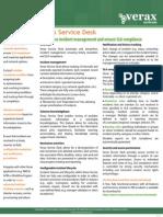 Verax Service Desk - incident management and SLA compliance