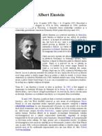 Albert Einstein Referat