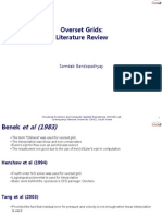 Overset Grids Literature Review - Overture