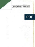 Mass Transfer Operations - Robert Treybal
