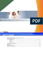 Callcenter Procedure Guide