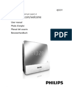 Manuel Radio-Reveil Philips AJ3231(Alain)