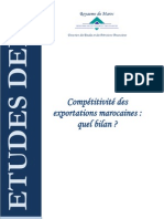 Compétitivité des exportations marocaines