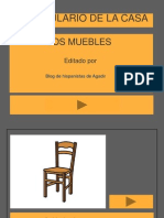 Vocabulario Muebles de La Casa...
