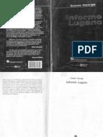 Informe Lugano (Sobre Como Preservar El Capitalismo en El Siglo 21) - Susan George