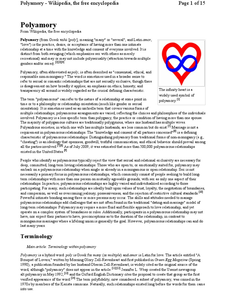 en wikipedia org Wiki Polyamory   Polyamory   Marriage
