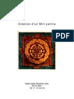 Creation of  Shri Yantra