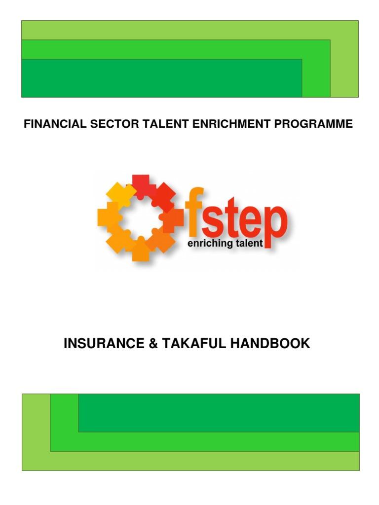 Insurance Takaful Manual Final Pdf