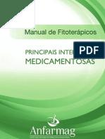 Manual de fitoterapicos - principais interações medicamentosas