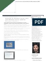 Migrando de Windows Server 2003 Para Windows Server 2008 R2