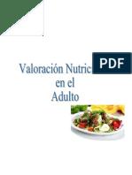 Valoración nutricional del adulto sano