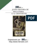 G K Chesterton Pequeña Historia de Inglaterra