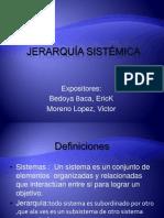 JERARQUÍA SISTÉMICA