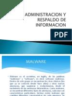 Administracion y Respaldo de Informacion