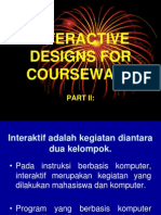 Part II Interactive Designs for Courseware