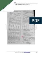 CSAT Paper 2013 (Paper 2)