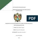Plan de La Municipalidad de Sucre Martes