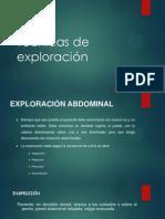 Técnicas de exploración