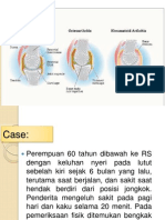 Osteoartritis dan Rhematoid artrtitis