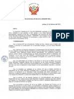 RESOLUCIÓN  JEFATURA N° 002-2011-SERNANP–RNL–J0001