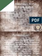 Presentasi Roda Gigi Turbin Angin II