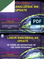 Labor Analgesia an Update