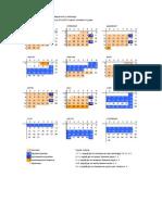 2012-2013 skolski kalendar