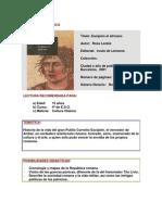 Escipion. Ficha Bibliografica