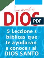 _Conociendo a Dios, 5 lecciones_Amir Alí Tejada