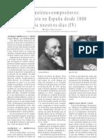 El clarinete en España desde 1800 hasta nuestros días (IV)