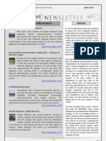 India Transport Portal Newsletter - April, 2013