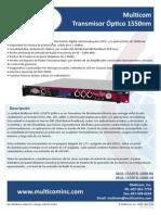 Flyer Specs Spanish 1550tx