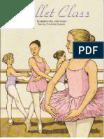 Ballet Classs Dover Coloring Book