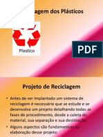Aula 10 - Reciclagem dos Pl†sticos