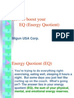 How to Boost Your EQ