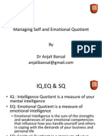 Managing Self and Emotional Quotient