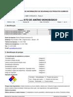 FISPQ - Fosfato monoamônico