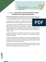 Trabajadores de la Zona Franca del Eje Cafetero reciben certificación de competencias laborales