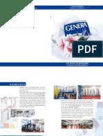 Catalogo GENERA
