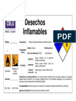 Desechos Inflamables