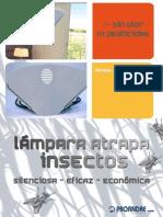 lampara atrapa insectos