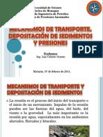 Mecanismos de Transporte y Depositación
