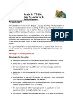 Focus on the Learner CertTESOL (2)