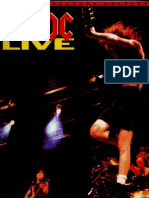 ACDC - Live - Songbook