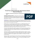 20130520 USA Myanmar Diplomacy Applauded