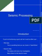0.7. Seismic Processing