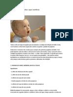 Dez Receitas de Papinhas Supernutritivas