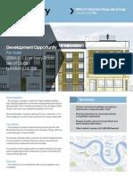 E14 London Development Opportunity