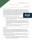 Regulatory Alert Mobile App Enforcement - Digitas Health - May 2013