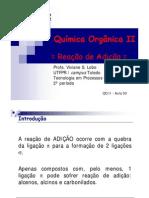Quimica - Organica II reação de adicao